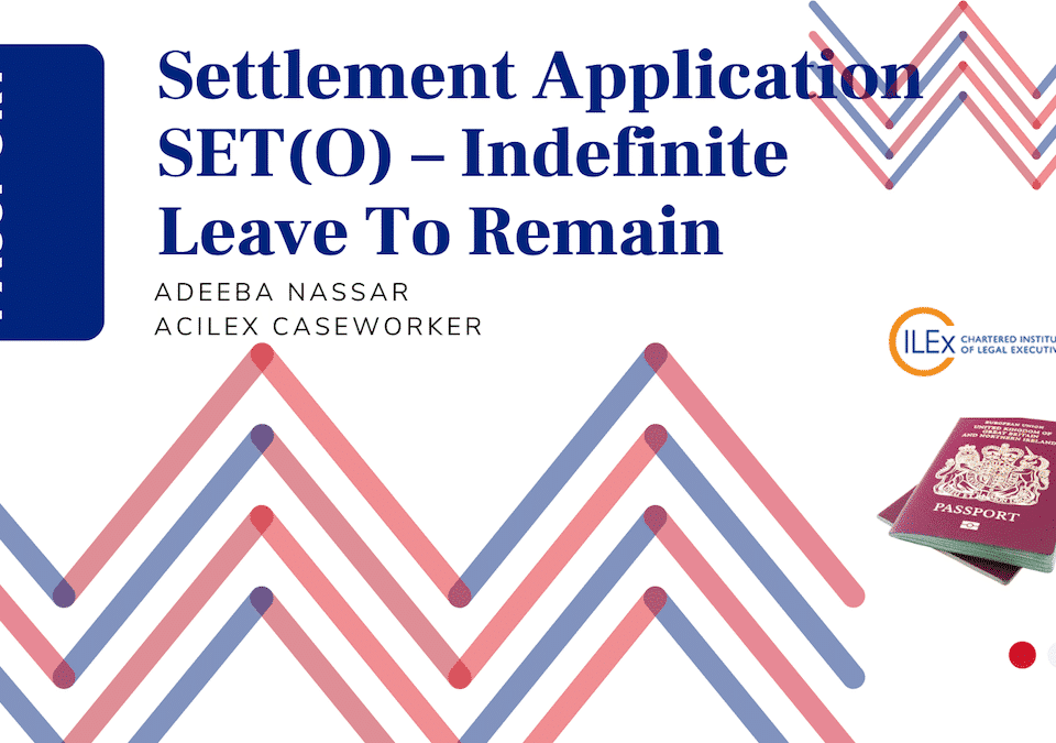 Settlement Application