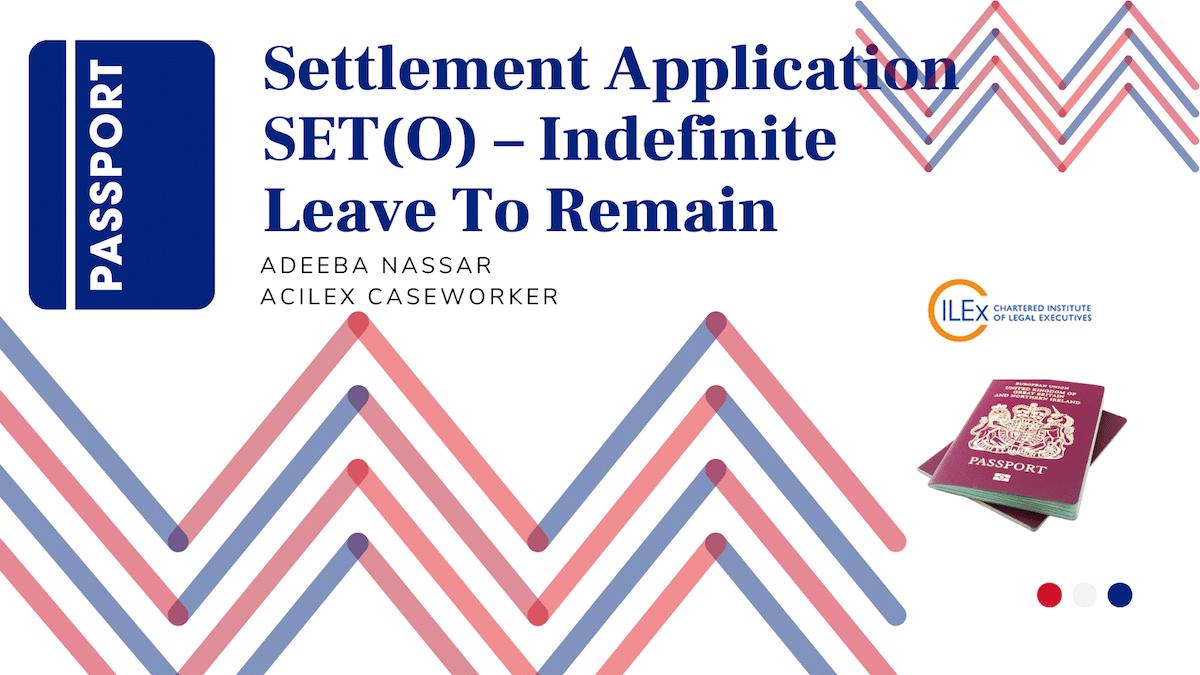 Settlement Application