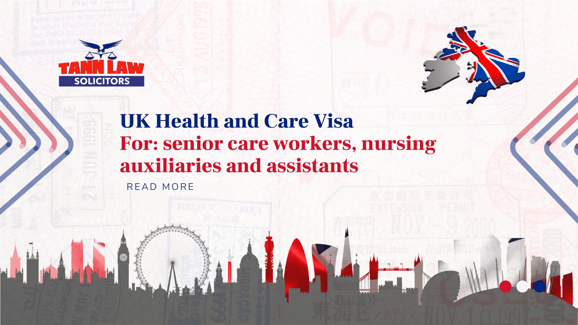 Health and Care Visa UK