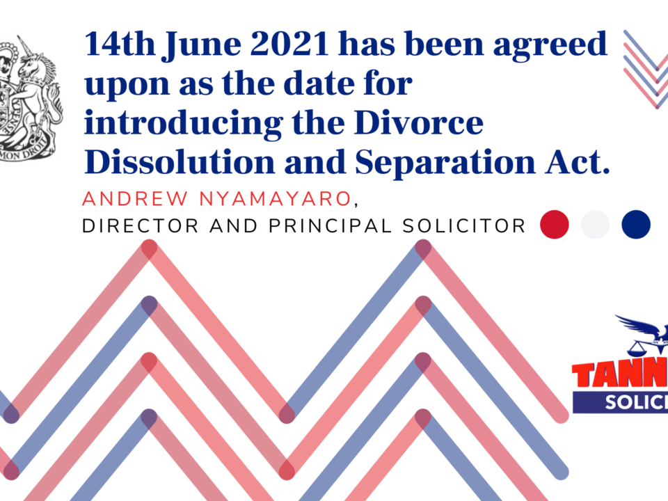 Divorce Dissolution and Separation Act 2020