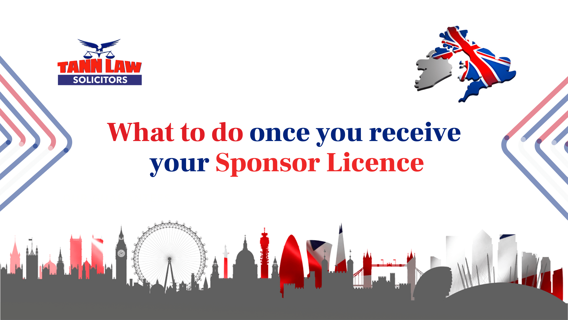 What to do once you receive your sponsor licence