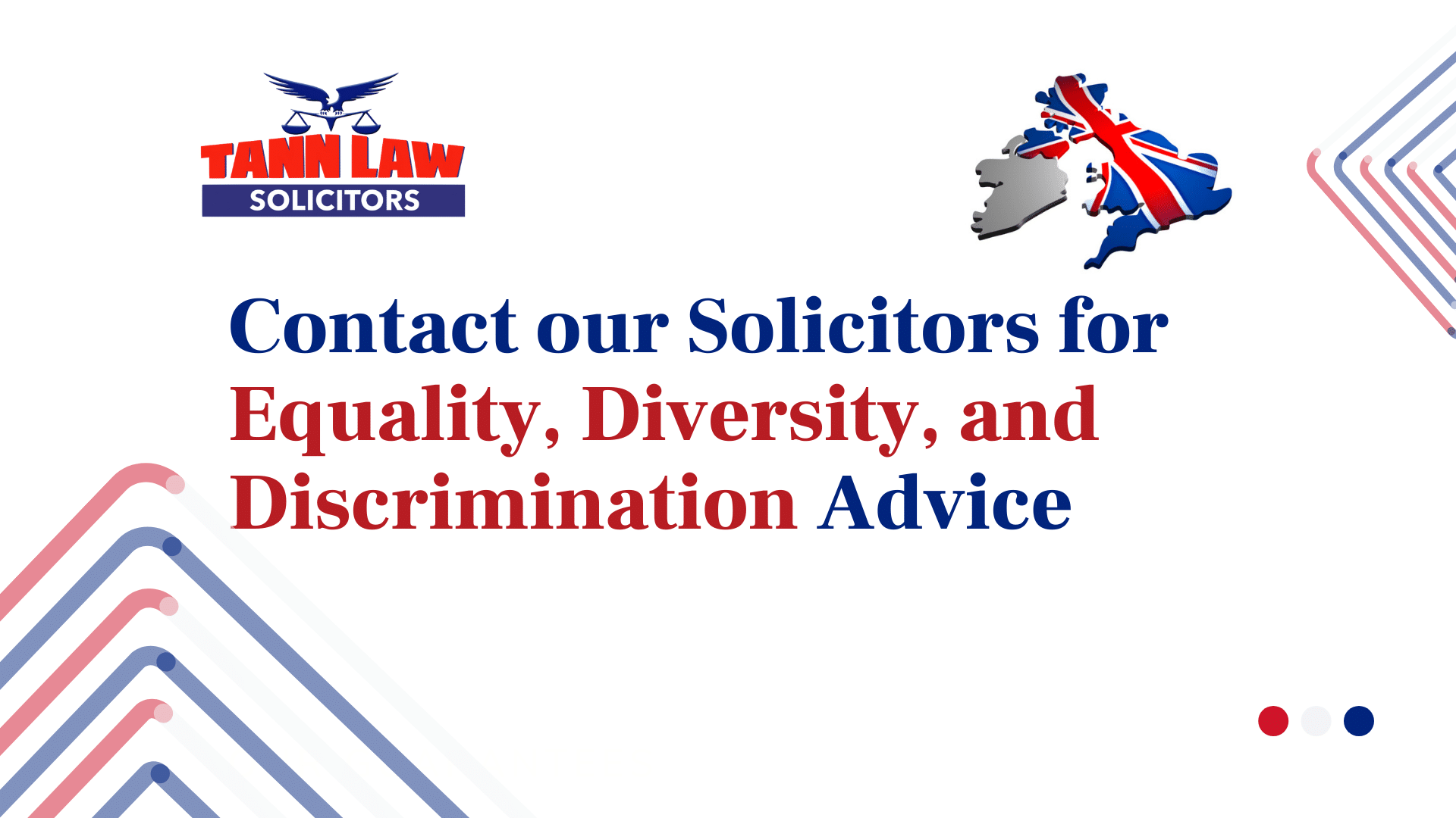 solicitors for Equality, Diversity, and Discrimination Advice